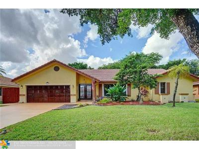 Coral Springs Single Family Home Sold: 6030 NW 46th Mnr
