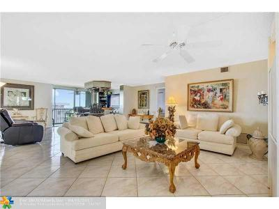 Pompano Beach Condo/Townhouse For Sale: 1505 N Riverside Dr #1501 & 1
