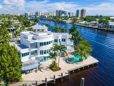 Fort Lauderdale Single Family Home For Sale: 2896 NE 25th Ct