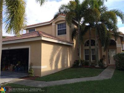 Miramar Single Family Home For Sale: 18074 SW 28th St