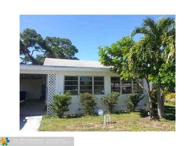 Broward County Single Family Home For Sale: 899 NE 35th St