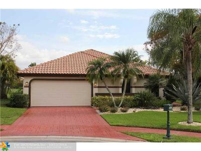 Boca Raton Single Family Home For Sale: 10176 Sunset Bend Dr