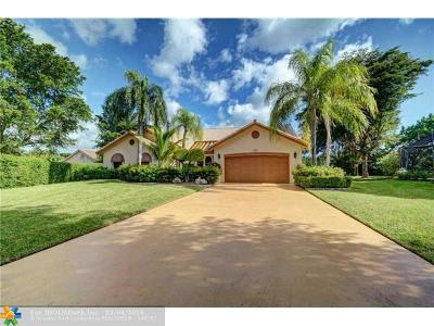 Coral Springs Single Family Home Sold: 5911 NW 53rd St