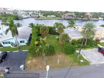 Pompano Beach Single Family Home For Sale: 1713 N Riverside Dr
