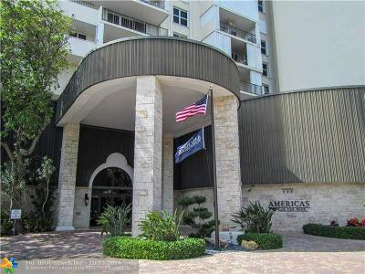 Condo/Townhouse Sold: 777 Bayshore Dr #401