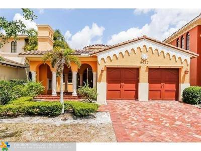 Broward County Single Family Home For Sale: 9627 Cinnamon Ct