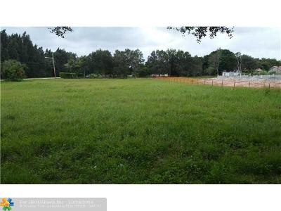 Davie Residential Lots & Land For Sale: 13600 Pine Meadow Ct