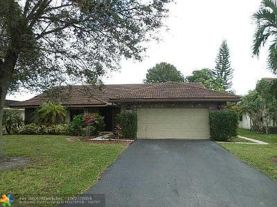 Coral Springs Single Family Home Sold: 5329 NW 66th Ave