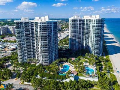 Fort Lauderdale Condo/Townhouse For Sale: 3100 N Ocean Blvd #504