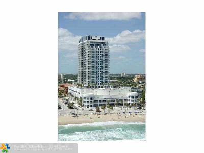 Fort Lauderdale Condo/Townhouse For Sale: 505 N Fort Lauderdale Beach Blvd #2118