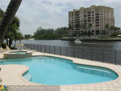 Pompano Beach Condo/Townhouse For Sale: 1301 N Riverside Dr #11
