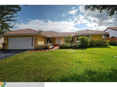 Coral Springs Single Family Home Sold: 6490 NW 55th St