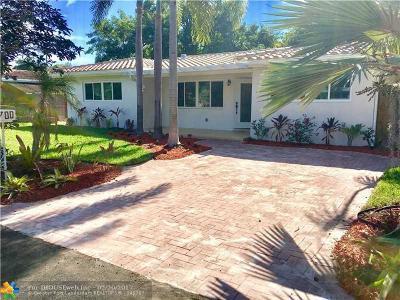 Wilton Manors Single Family Home Backup Contract-Call LA: 700 NE 20th Dr