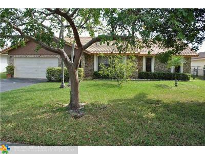 Coral Springs Single Family Home Sold: 5161 NW 64th Dr