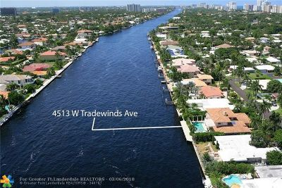 Lauderdale By The Sea Single Family Home For Sale: 4513 W Tradewinds Ave