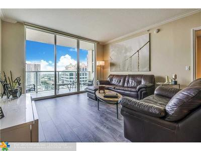 Fort Lauderdale Condo/Townhouse For Sale: 350 SE 2nd St #2450