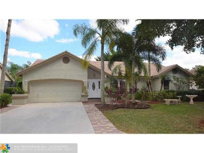 Coral Springs Single Family Home Sold: 5445 NW 62nd Ave
