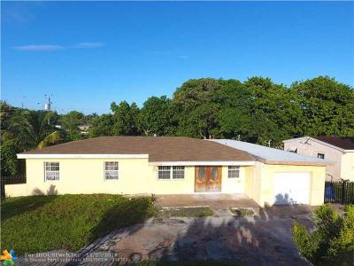 Single Family Home Sold: 19220 NW 6th Ave