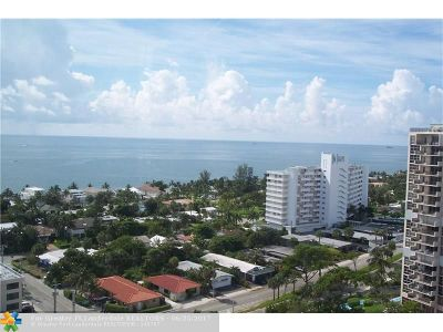 Condo/Townhouse Sold: 3015 N Ocean Blvd #17G