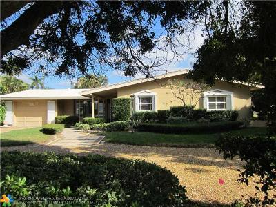 Lauderdale By The Sea Single Family Home For Sale: 1458 W Terra Mar Dr