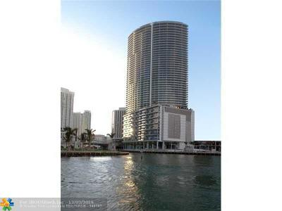 Miami Condo/Townhouse For Sale: 200 Biscayne Boulevard Way #4206