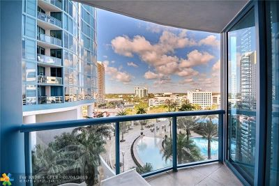 Fort Lauderdale Condo/Townhouse For Sale: 333 Las Olas Way #1006