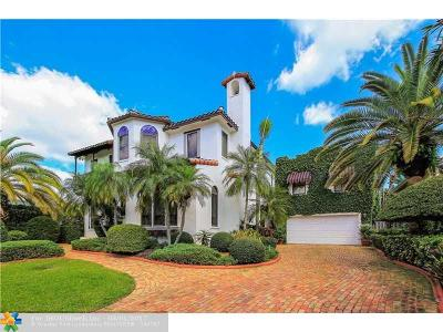 Single Family Home For Sale: 500 Coconut Isle Dr