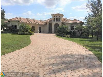 Plantation Single Family Home Backup Contract-Call LA: 1400 NW 116 Ave