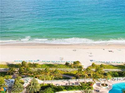Fort Lauderdale Condo/Townhouse For Sale: 3100 N Ocean Blvd #2803