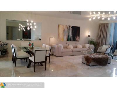 Fort Lauderdale Condo/Townhouse Sold: 3100 N Ocean Blvd #2303