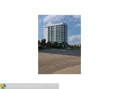 Pompano Beach Condo/Townhouse For Sale: 1430 S Ocean Blvd #3A