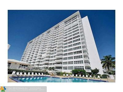 Fort Lauderdale Condo/Townhouse For Sale: 4010 Galt Ocean Dr #716