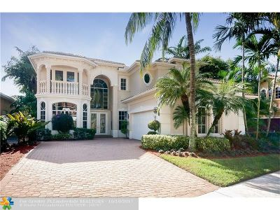 Delray Beach Single Family Home For Sale: 8108 Valhalla Dr