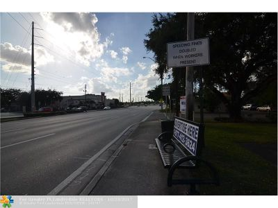 Dania Commercial Lots & Land For Sale: 4501 Stirling Rd