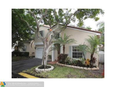 Coconut Creek Single Family Home For Sale: 4420 NW 61st Pl