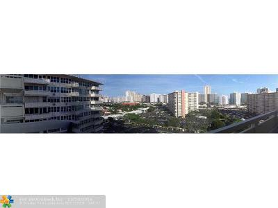 Fort Lauderdale Condo/Townhouse For Sale: 3200 NE 36th St #1521