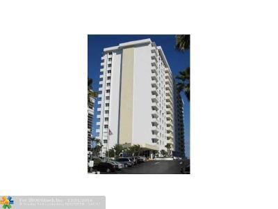 Condo/Townhouse For Sale: 4250 Galt Ocean Dr #2T