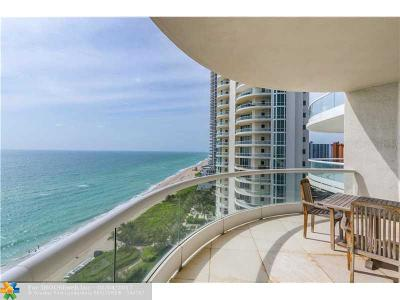 Sunny Isles Beach Condo/Townhouse For Sale: 16051 Collins Ave #1202
