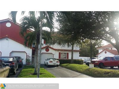 Broward County Condo/Townhouse For Sale: 8960 NW 23rd St #8960