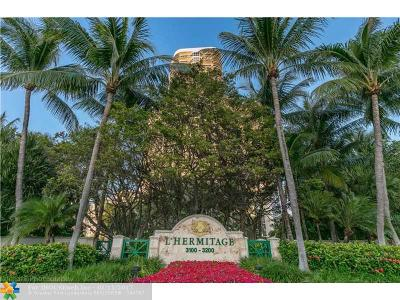 Condo/Townhouse Sold: 3200 N Ocean Blvd #1102