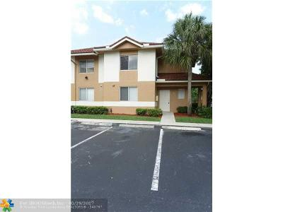 Plantation Condo/Townhouse For Sale: 839 NW 91st Ter #839