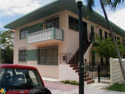 Miami Beach Condo/Townhouse For Sale: 410 Euclid #6