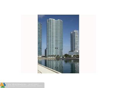 Miami Condo/Townhouse For Sale: 900 Biscayne Blvd #th705