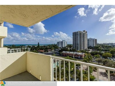 Fort Lauderdale Condo/Townhouse Backup Contract-Call LA: 3015 N Ocean #7J