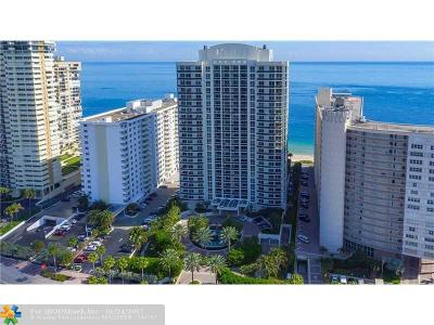 Condo/Townhouse For Sale: 4240 Galt Ocean Dr #805