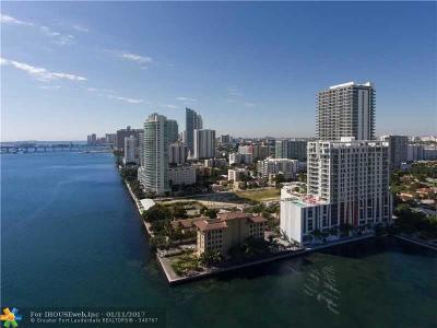 Miami Condo/Townhouse For Sale: 601 NE 27 St #908