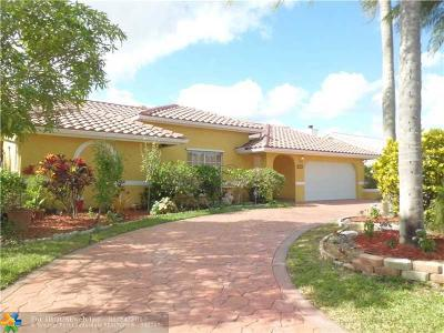 Coral Springs Single Family Home Sold: 5340 NW 66th Ave