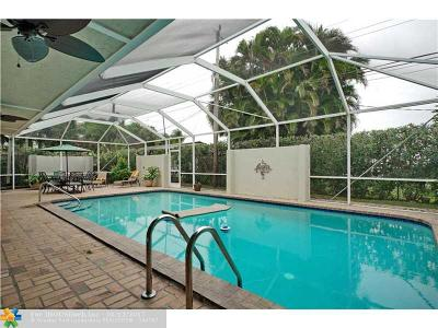 Oakland Park Single Family Home For Sale: 1921 NE 43rd Ct