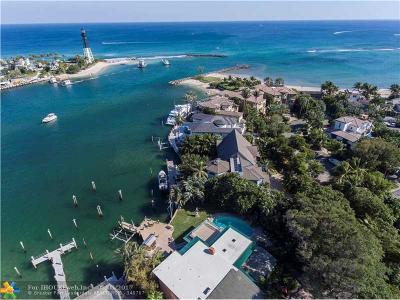 Pompano Beach Single Family Home For Sale: 2406 Bay Dr