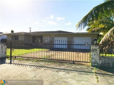 Single Family Home Sold: 10930 NW 26th Ave